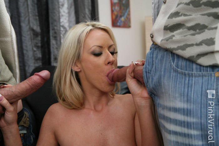 Carolyn Reese Sucking Cock